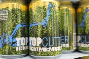 Topcutter IPA by Bale Breaker Brewing Company.
