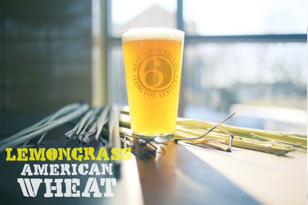 Lemongrass American Wheat from West Sixth