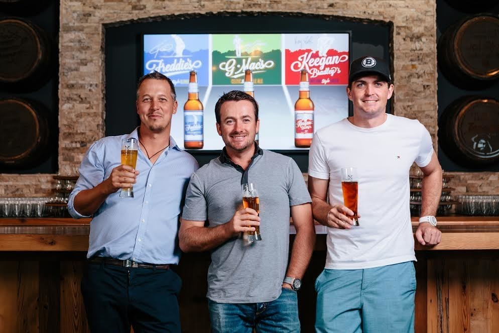 GolfBeer the golfers with their brands