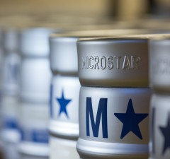 MicroStar Logistics Line of Kegs