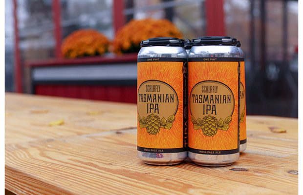Schlafly Beer Releases Tasmanian IPA in 16-ounce Cans