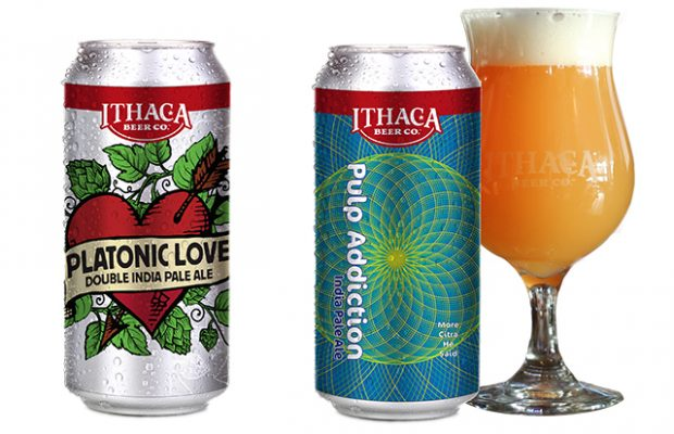 Ithaca Releasing Platonic Love & New Pulp Addiction IPA Series